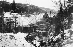 Norway's fjords offered natural hiding places for the German fleet, which draped the battleship Tirpitz with tarps and branches to blend in with the countryside and foil enemy reconnaissance. Still, the British Navy caught and sank 10 German destroyers in a major battle off Narvik in April.