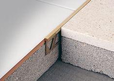 joint de dilatation entre carrelage et parquet en bois acceptant forme courbe mod le covertec. Black Bedroom Furniture Sets. Home Design Ideas