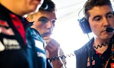 Max Verstappen studies the numbers during practice for the F1 Canadian Grand Prix at Circuit Gilles