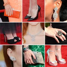 The Best Bags, Baubles, and Heels to Walk the SAG Awards Red Carpet SLIDESHOW