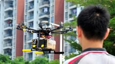 """SF Express is currently testing """"high tech"""" drones that can deliver packages to remote locations. Thanks to a built-in navigation system, these drones can go where trucks can't."""