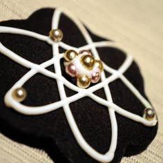 Atom Cookies - for Sarah's graduation
