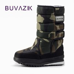 HOT PRICES FROM ALI - Buy winter warm men s thickening platforms waterproof  shoes military desert male knee-high snow boots outdoor hunting botas for  only ... 5aa09070accf