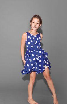 Little-Marc-Jacobs-summer - polka dot dress