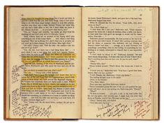 Stanley Kubrick's Annotated Copy of Stephen King's The Shining