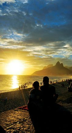 Sunset in Rio- Por do Sol