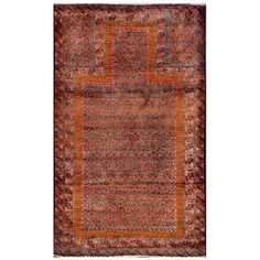 Herat Oriental Afghan Hand-knotted Tribal Balouchi Green/ Rust Wool Rug (3' x 4'3) | Overstock™ Shopping - Great Deals on Herat Oriental 3x5 - 4x6 Rugs