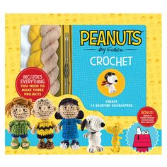 Peanuts characters crochet patterns book