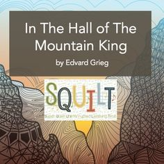 Hall of Mountain King — Squilt Music Appreciation Music For Toddlers, Toddler Music, Classical Music Playlist, Homeschool Curriculum Reviews, Homeschooling, Music Classroom, Classroom Ideas, Halloween Music, Autumn Activities For Kids