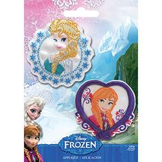 Simplicity 1931104001 Disney Frozen Elsa and Anna Applique Set ** You can find more details by visiting the image link.