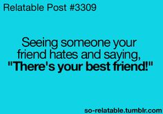 This sounds like something I'd do to any of my friends. :)