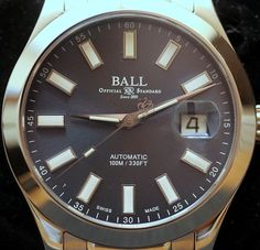 """BALL Watch Company Engineer II Marvelight Watch Review - see the full review, including, of course, the lume shot obligatory for all Ball watches on aBlogtoWatch.com """"When it comes to the watches that Ball is creating, it is hard for me to not be attracted to the light shows that some of their designs pull together... Those can be fun, but sometimes you could do for dialing things down a little bit. In that case, I believe the Ball Engineer II Marvelight is an exercise in restraint..."""""""