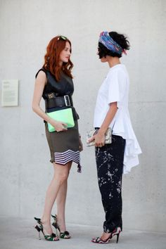 Taylor Tomasi Hill and Yasmin Sewell