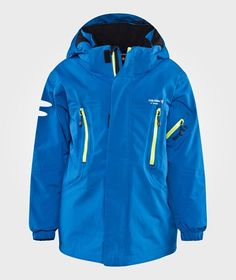Helicopter Ski Jacket Superheroblue