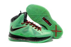 "Nike Air Max Lebron X ""Cutting Jade"" Seaweed Atomic Green Hasta for Men Cheap Sale"