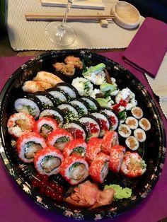 Tempura Sushi, Sashimi, Junk Food, Cobb Salad, White Trash Food