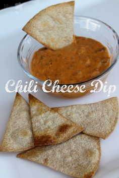 Love dips? Here's a super easy and delicious 3 ingredient Chili Cheese Dip Recipe that you can serve up for your guests at your next gathering!