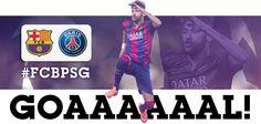 14' Goooal Barçaaaaaaaaaaa!!!!!!!!! Neymar finds the net!!!!! FCB 1 - 0 PSG #FCBLive #FCBPSG goal_PSG_neymar_1.jpg