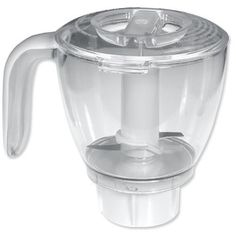 """Oster 4861 blender food processor accessory. by Oster. $20.15. Lid tightly locks onto bowl and includes an opening to add liquids.. Clear processing bowl with 3-cup capacity.. Sharp """"S"""" shaped stainless steel blade processes a wide variety of foods in seconds.. Ideal to chop, cut, grind, and mix light dough.. Base easily sits on any Oster blender.. Oster 4861 blender food processor accessory. Ideal to chop, cut, grind, and mix light dough. Lid tightly locks onto bowl and inc..."""
