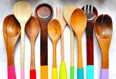 Comment entretenir les ustensiles de cuisine en bois
