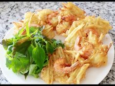 Sweet Potato Shrimp Cakes, Red Curry and Asian Salad Dressi - YouTube