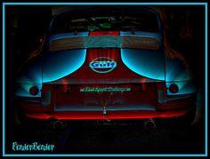 Gulf Porsche 911 Race car