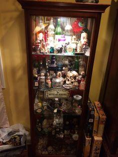 #potionscabinet, #halloweendecorating, #spells