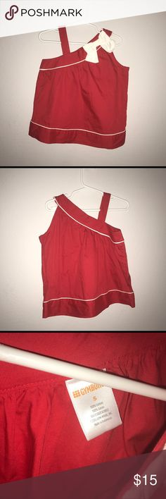 Girls Gymboree red bow top. Size 5. Excellent Cond Girls Gymboree red bow top. Size 5. Excellent Condition. Worn once. Great for spring. Gymboree Shirts & Tops Blouses