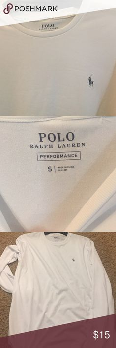 Mans Ralph Lauren Polo Performance shirt Polo Ralph Lauren performance long sleeved shirt sz small Polo by Ralph Lauren Shirts Tees - Long Sleeve