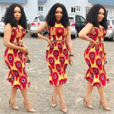 """Today we bring to you """"Fabulous Ankara Styles for Beautiful Ladies."""" These ankara styles are absolutely irresistible and attractive. They can make you look outstanding in any event you attend with these styles. Ankara Gown Styles, Ankara Gowns, Latest Ankara Styles, Ankara Dress, Dress Styles, African Attire, African Wear, African Dress, African Women"""