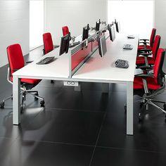 Office desk solutions Walking Corporate Bench Desks Wwwrapinteriorscom Cool Office Desk Modern Office Desk Pinterest 13 Best Modern Office Desk Solutions Images Executive Desk Set