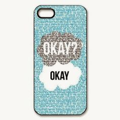 The Fault In Our Stars iPhone 5 case cover.