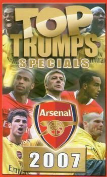 2007 Top Trumps Specials Arsenal #NNO Title Card Front