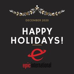 Happy Holidays from everyone at Epic International! . . . . . #motivation #motivational #epicinternational #marketing #marketingdigital #marketingstrategy #marketingagency #marketingtips #distribution #logistics #brandmanagement #officeculture #funoffice #interiordesign #officedesign #officeart Accounting And Finance, Rewards Credit Cards, Brand Management, Market Research, Direct Sales, Happy Holidays, Digital Marketing, Motivational, Happy Holi