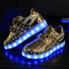 new style d6f34 4f119 2016 NEW Autumn Hot sale children sneakers USB charging kids LED luminous shoes  boys girls of colorful flashing lights sneakers-in Sneakers from Mother ...