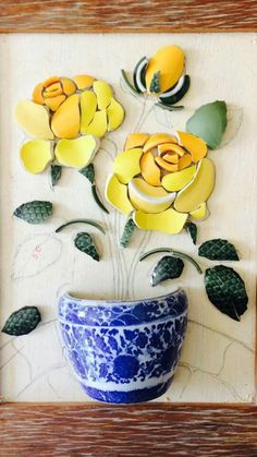We have come across the most amazing Mosaic Wall Art Ideas and you are going to fall head over heels as we did. Learn how to cut china to create your own. Mosaic Garden Art, Mosaic Tile Art, Mosaic Pots, Mosaic Artwork, Mosaic Crafts, Mosaic Projects, Mosaic Glass, Art Projects, Stained Glass