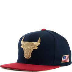 641e261bd78 Mitchell and Ness Chicago Bulls Snapback Cap