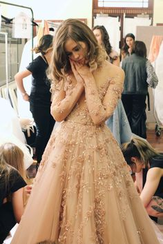 Backstage at Once Upon A Dream, Paolo Sebastian SS18 Couture Collection. Adelaide Fashion Festival. Photography by Lei Lei Clavey - Lei Lady Lei Blog