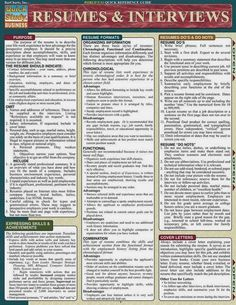 Offers solid information on different styles of resumes and interview techniques.Prepared by professional resume writers and human resource managers. Resume Help, Best Resume, Resume Tips, Job Resume, Interview Techniques, Job Interview Tips, Job Interviews, Interview Quotes, Interview Questions And Answers