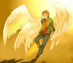 Archangel Gabrielby *Life-Writer. First realistic-ish thing I've seen where he actually has six wings.