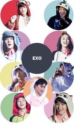 Read EXO from the story Wallpapers KPOP by PeakBoo (B O O) with 871 reads. Kpop Exo, Baekhyun Chanyeol, Exo Kai, Bts And Exo, Park Chanyeol, Chanbaek, Exo Ot12, Kaisoo, Wallpapers Kpop