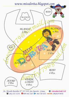 Moldes, Videos Tutoriales y Revistas Gratis de Foami, Goma Eva y microporoso, Compartir es nuestro lema y vayamos por la vida haciendo el Bien Felt Ornaments Patterns, Paper Piecing, Free Pattern, Sewing Patterns, Merry Christmas, Lema, Crafts, Ideas, Christmas Ornaments