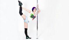 Stretching im aria arte - Pole Dance Halle