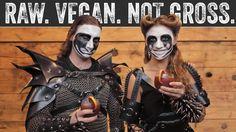 Spooky Halloween Special ft. Vegan Black Metal Chef   Raw. Vegan. Not Gr...