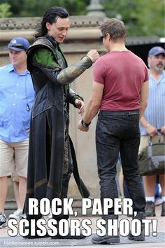 Loki's battle with Hawkeye has come down to this.