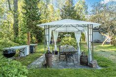 Marvelous suggestions to look into Gazebo Canopy, Backyard Gazebo, Garden Gazebo, Pergola, Porch Veranda, Garden Villa, Eclectic Decor, Rustic Decor, Outdoor Gardens