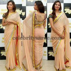 Pranali Kanyaraj Net Saree | Saree Blouse Patterns
