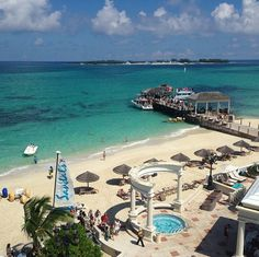 Sandals Royal Bahamian Resort in Nassau Paradise Island, The Bahamas is a great spot for a honeymoon!