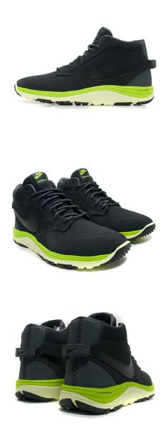 Nike  Lunar Braata Mid OMS (Anthracite Black Atomic Green) Nike Lunar bcc80d15b