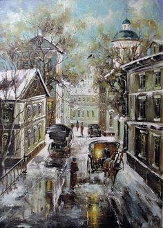 Город... Осень... Дождь... / Боев С. - Форум по искусству и инвестициям в искусство